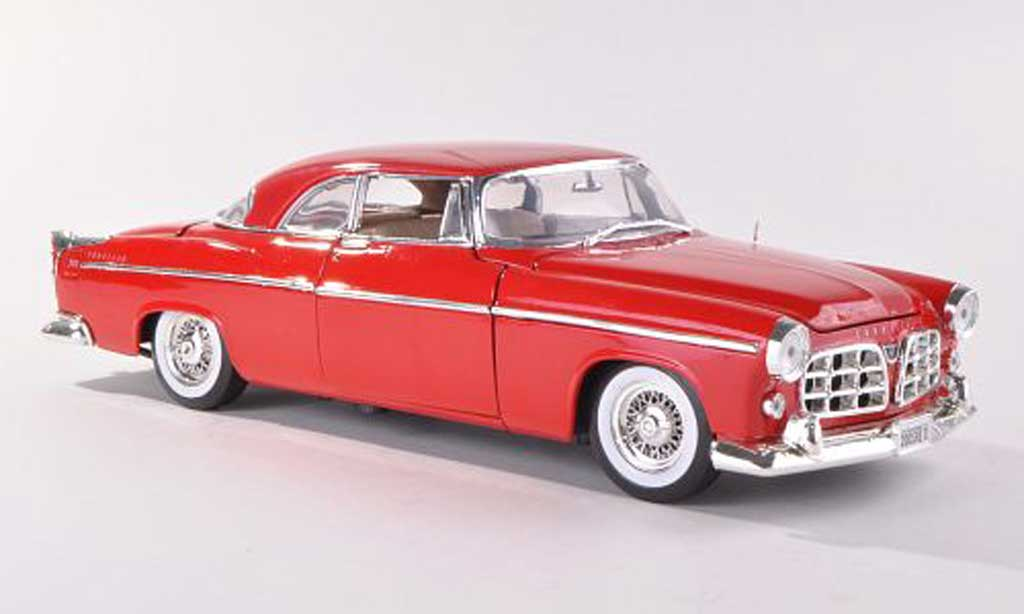 Chrysler 300C 1/18 Motormax rouge 1955 miniature