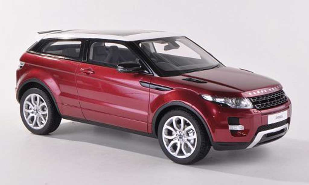 range rover evoque miniature rouge rhd 3 turer 2012 century dragon 1 18 voiture. Black Bedroom Furniture Sets. Home Design Ideas