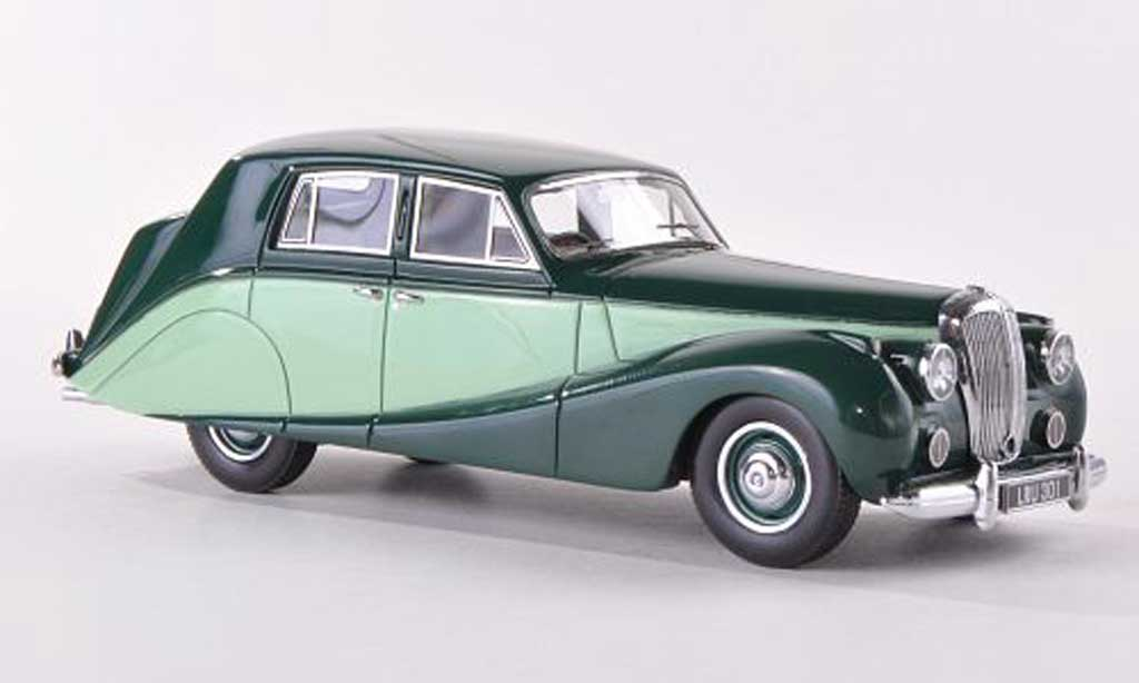 Daimler DB18 1/43 Matrix Hooper Empress grun RHD 1951 miniature