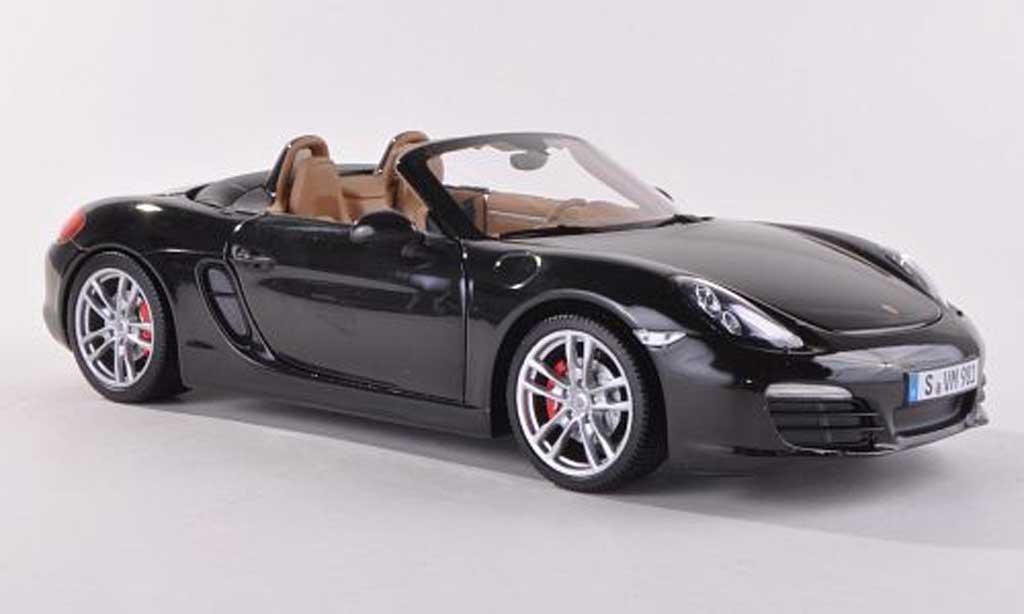 Porsche Boxster 1/18 Minichamps S (981) noire  2012 miniature