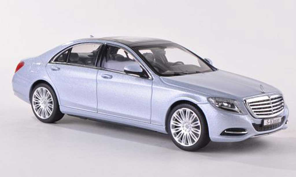 mercedes classe s miniature w222 bleu 2013 schuco 1 43 voiture. Black Bedroom Furniture Sets. Home Design Ideas