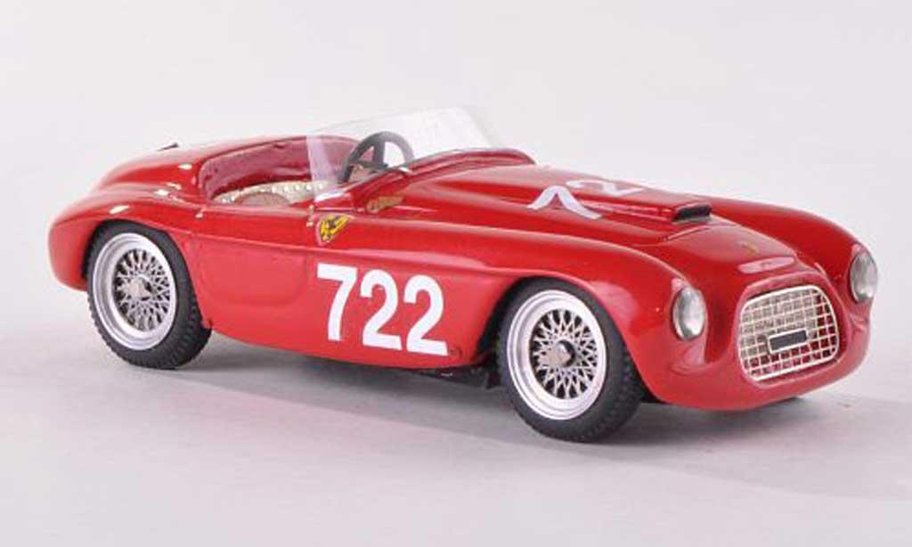 Ferrari 166 1950 1/43 Jolly Model SC Carrozzeria Fontana No.722 Mille Miglia V.Marzotto/P.Fontana miniature