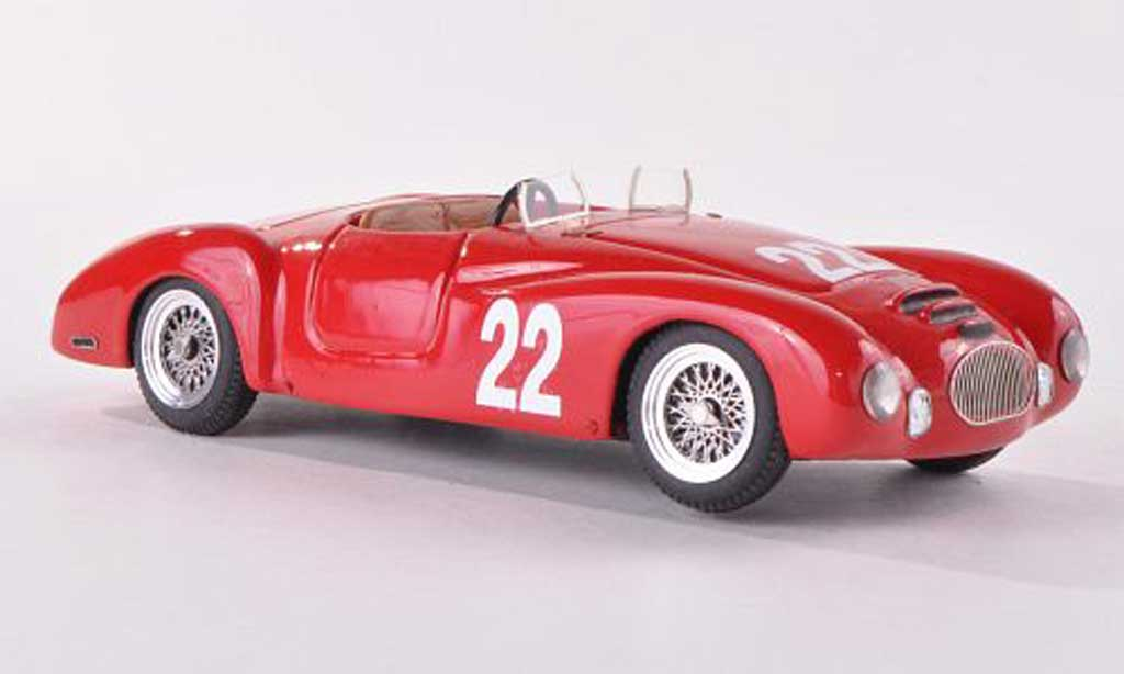 Fiat 1100 1951 1/43 Jolly Model Roselli Carrozzeria Colli No.22 Targa Florio G.Sapienza miniature