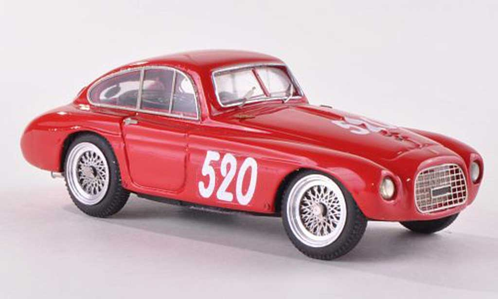 Ferrari 166 1953 1/43 Jolly Model MM Berlinetta Zagato No.520 Mille Miglia L.Bosisio/P.Ercole miniature