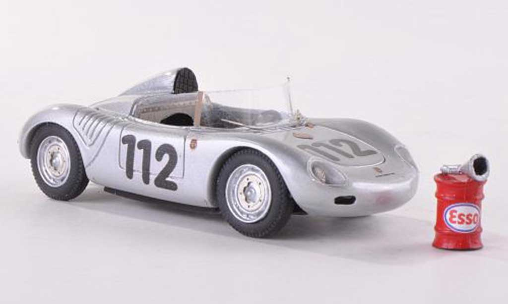 Porsche 718 1/43 Jolly Model 1959 K 1500 winner Targa Florio No. 112 mit Esso Kraftstoffass und Einfulltrichter diecast model cars