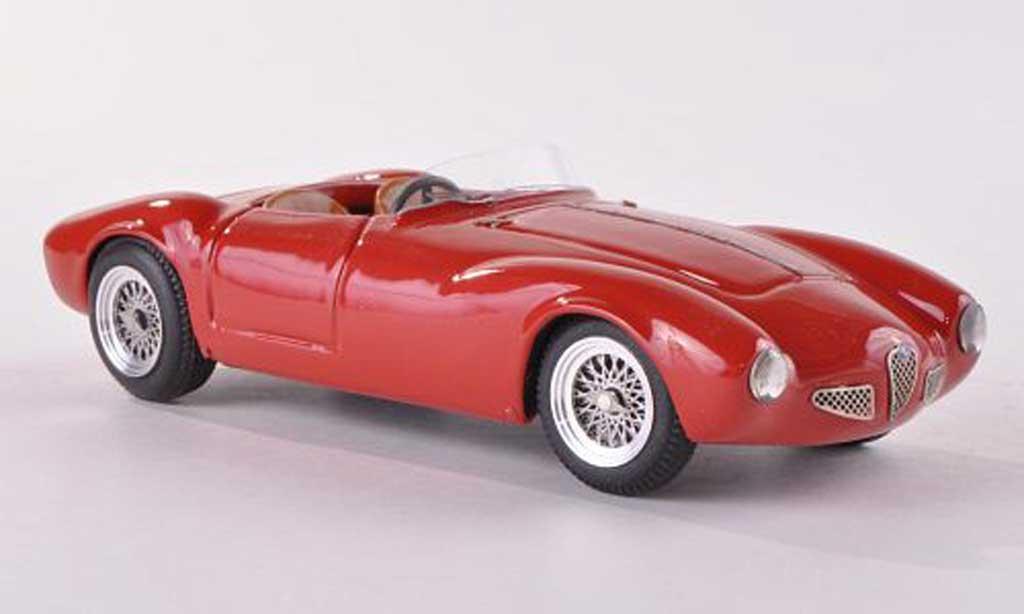 Alfa Romeo 1900 C52 1/43 Jolly Model Sport Spyder Stradale rouge  1953 miniature