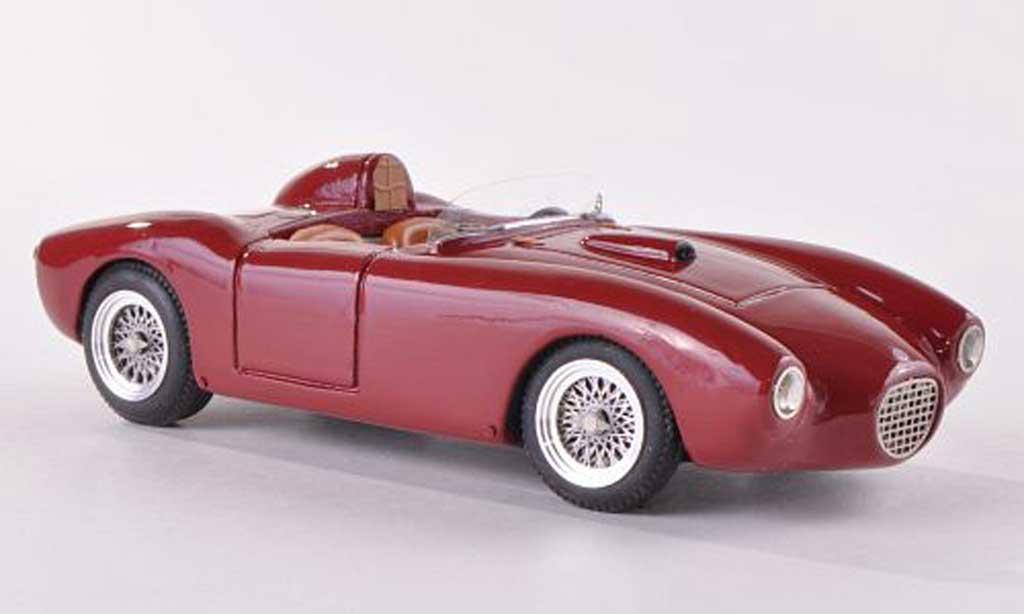 Fiat 103 G 115 Sport Barchetta Stradale schwarz-rot  1957 Jolly Model. Fiat 103 G 115 Sport Barchetta Stradale schwarz-rot  1957 Stradale modellauto 1/43