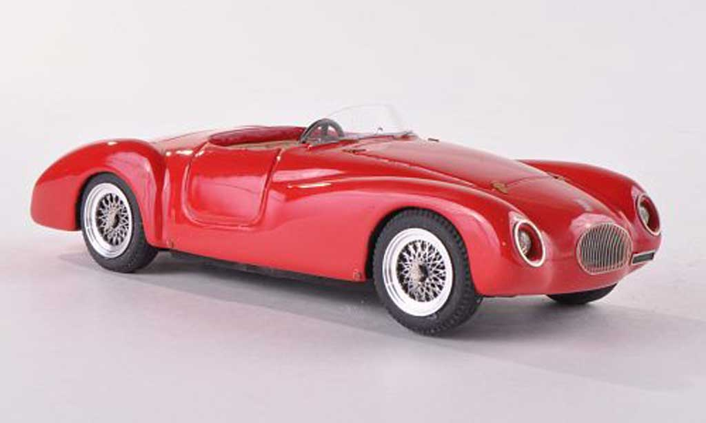 Fiat 1100 1948 1/43 Jolly Model Sport Roselli Stradale rouge miniature