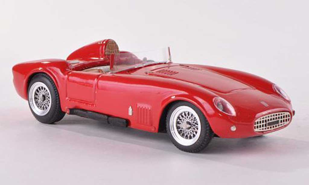 Fiat 1100 1954 1/43 Jolly Model Barchetta Pininfarina Stradale rouge miniature