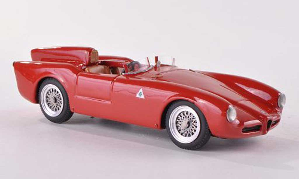 Alfa Romeo 750 1/43 Jolly Model Competizione rouge 1955 miniature