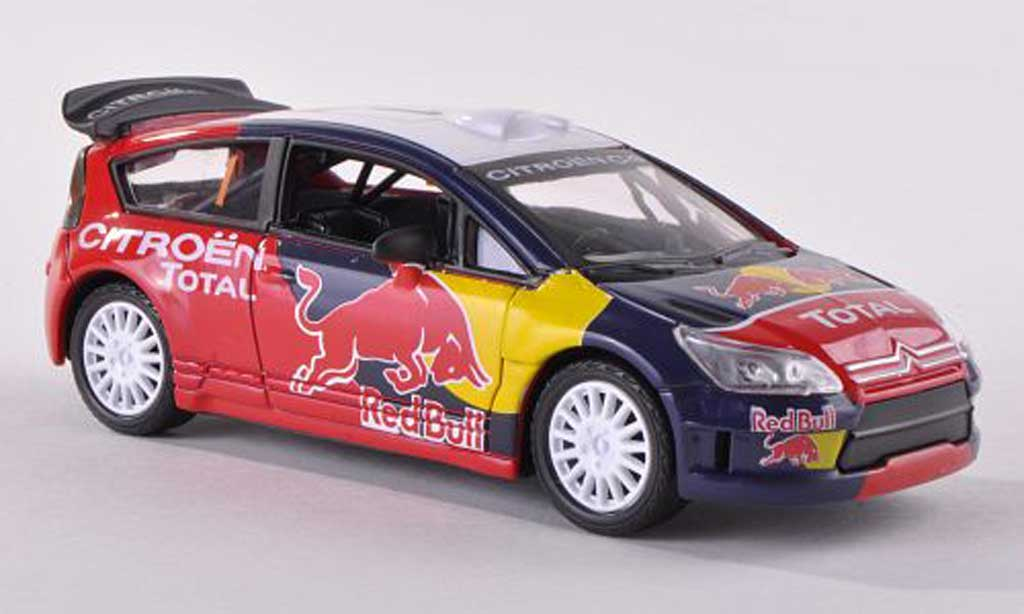 Citroen C4 1/43 Norev WRC No.1 Red Bull/Total  miniature