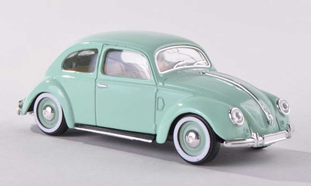Miniature Volkswagen Kafer clair-vert  1950 Solido. Volkswagen Kafer clair-vert  1950 miniature 1/43