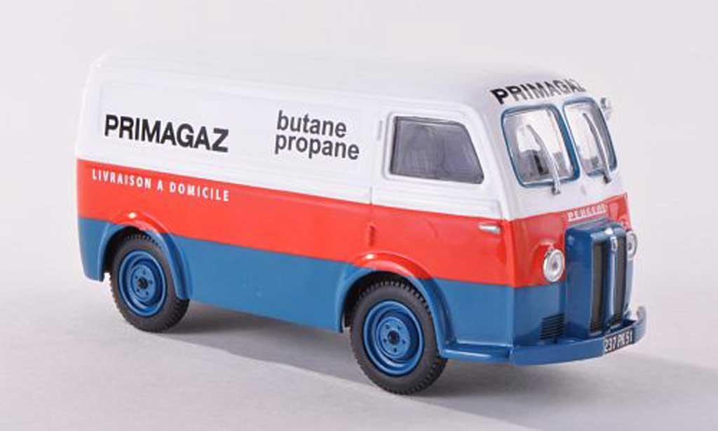 Peugeot D3 1/43 Eligor Boite Primagaz miniature