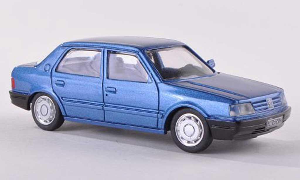 Peugeot 309 Berline 1/43 Paradcar bleu modellautos