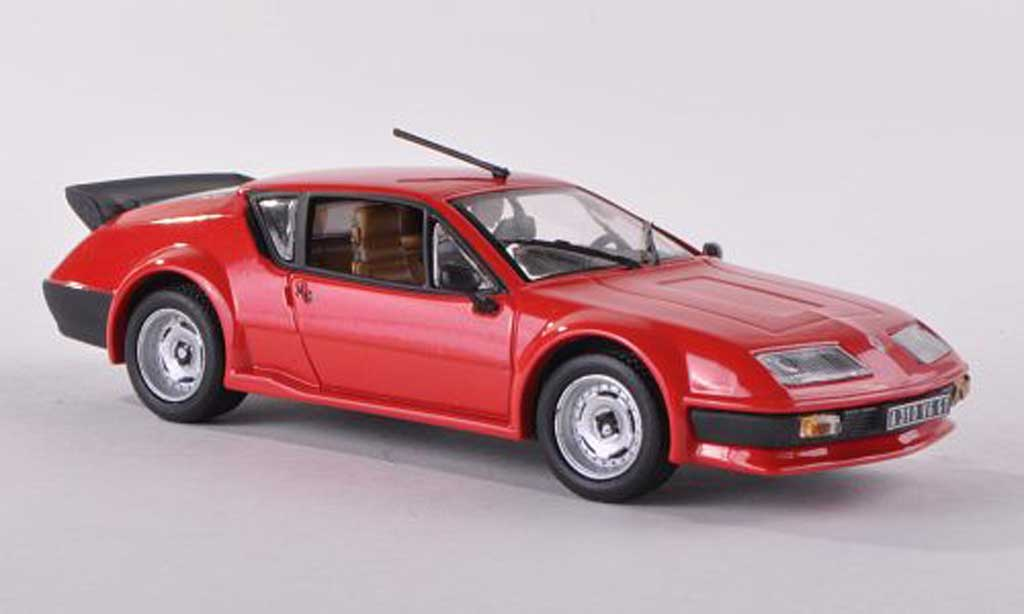 Alpine A310 Pack GT 1/43 Eagle rouge 1986 miniature