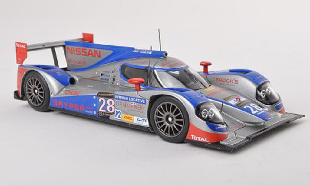 Lola B12 Nissan 1/43 Spark /60 No.28 Gulf Racing Middle celui-ci 24h Le Mans 2013 F.Giroix/P.Haezebrouck/K.Ihara miniature