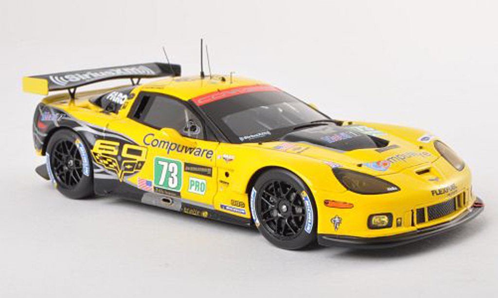 Chevrolet Corvette C6 1/43 Spark ZR1 No.73 Corvette Racing 24h Le Mans 2013 A.Garcia/J.Magnussen/J.Taylor diecast