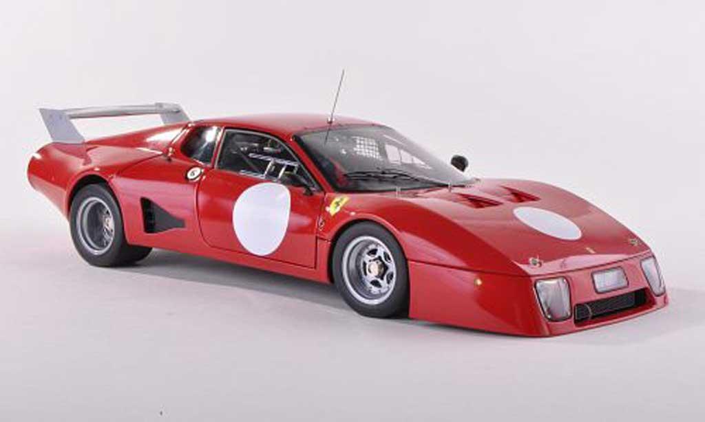 Ferrari 512 BB LM 1/43 BBR Models Pressefahrzeug rouge 1979 miniature