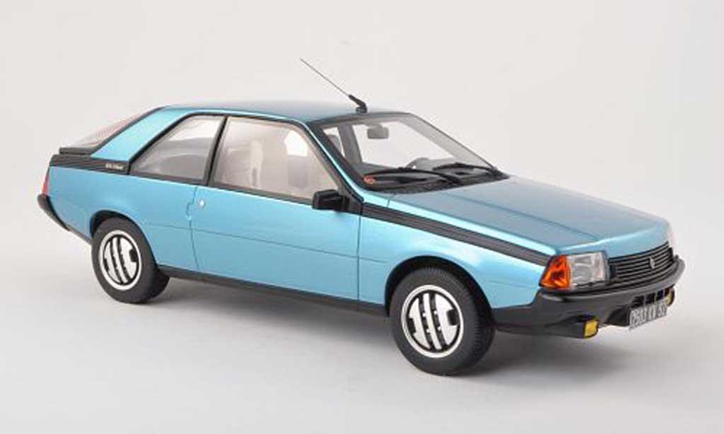 Renault Fuego Miniature Gtx Clair Bleu Ottomobile 1 18