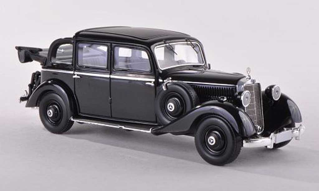 Mercedes 260 D 1/43 Esval Models Pullmann Landaulet noire ouvert  1936 miniature