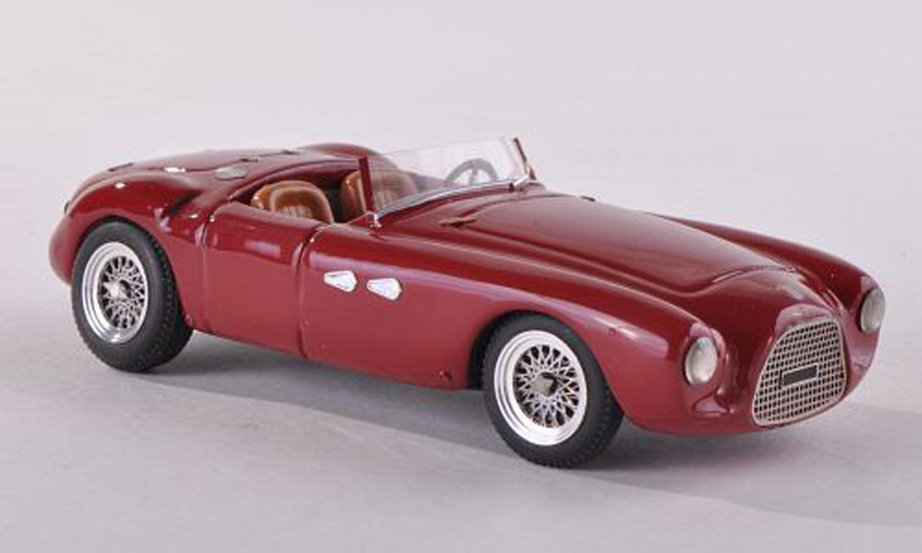 Fiat 1100 1951 1/43 Jolly Model Colli Sport Spyder black-red diecast model cars