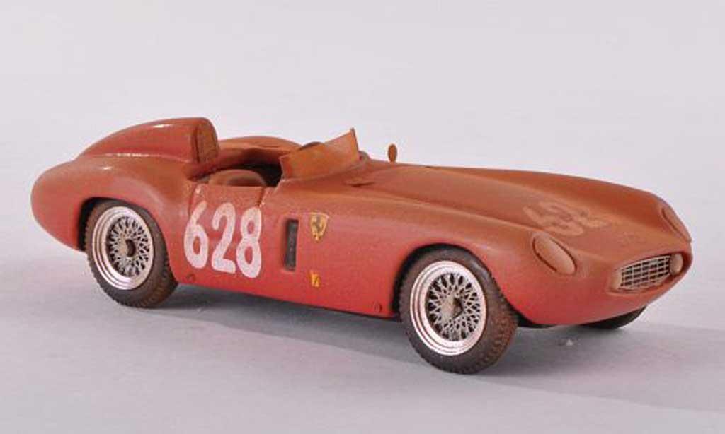 Ferrari 500 Mondial 1/43 Jolly Model Scaglietti No.628 Mille Miglia avec Schmutzeffekt 1955 M.Della Favera