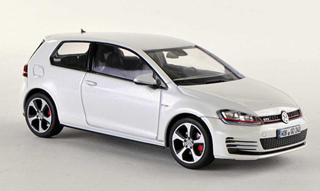 volkswagen golf vii miniature gti blanche 3 portes 2013 herpa 1 43 voiture. Black Bedroom Furniture Sets. Home Design Ideas