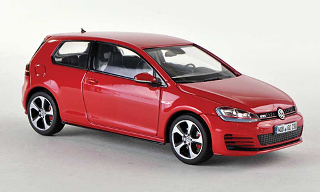 volkswagen golf vii miniature gti rouge 3 portes 2013 herpa 1 43 voiture. Black Bedroom Furniture Sets. Home Design Ideas
