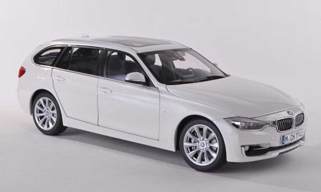 Bmw 330 F31 1/18 Paragon Touring blanche 2012 miniature