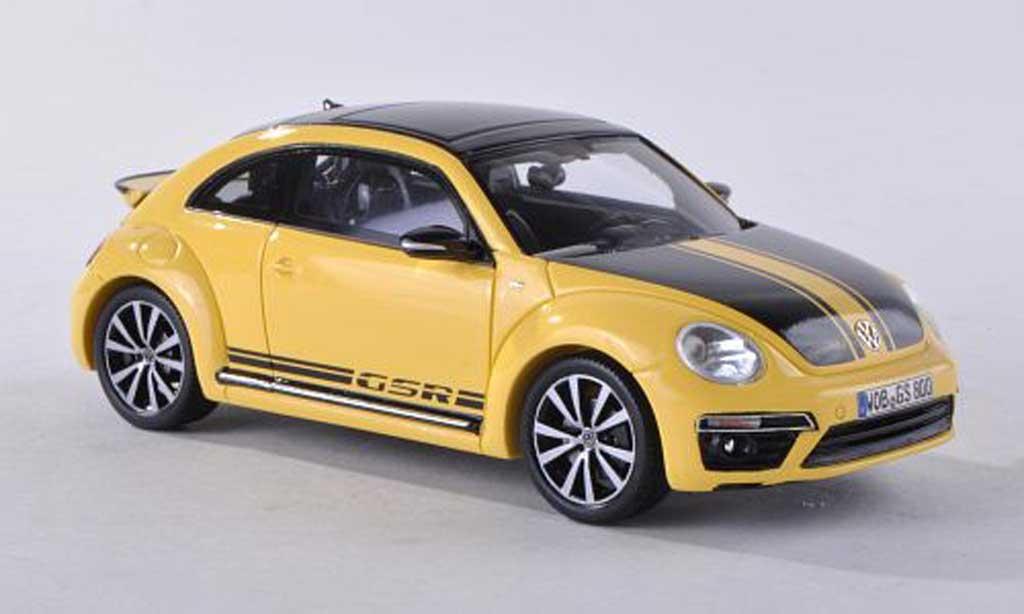 volkswagen beetle gsr gelb schwarz 2013 spark modellauto 1 43 kaufen verkauf modellauto. Black Bedroom Furniture Sets. Home Design Ideas