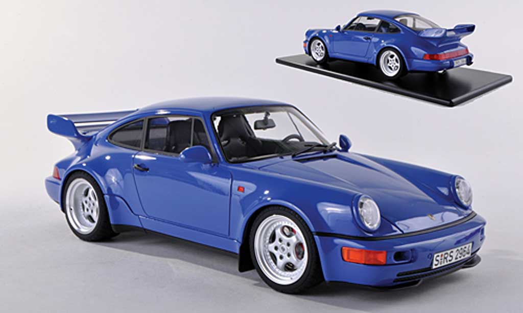 porsche 964 rs 3 8 blau 1992 gt spirit modellauto 1 18 kaufen verkauf modellauto online. Black Bedroom Furniture Sets. Home Design Ideas