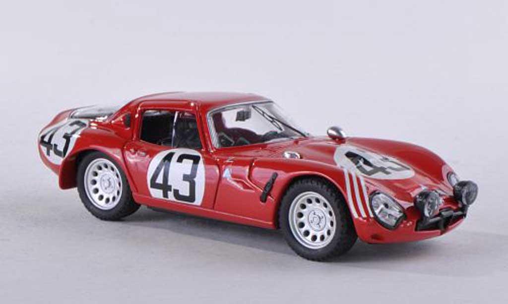 Alfa Romeo TZ2 1/43 Best Nr.43 24h Le Mans 1965 Zeccoli/Rosinski miniature