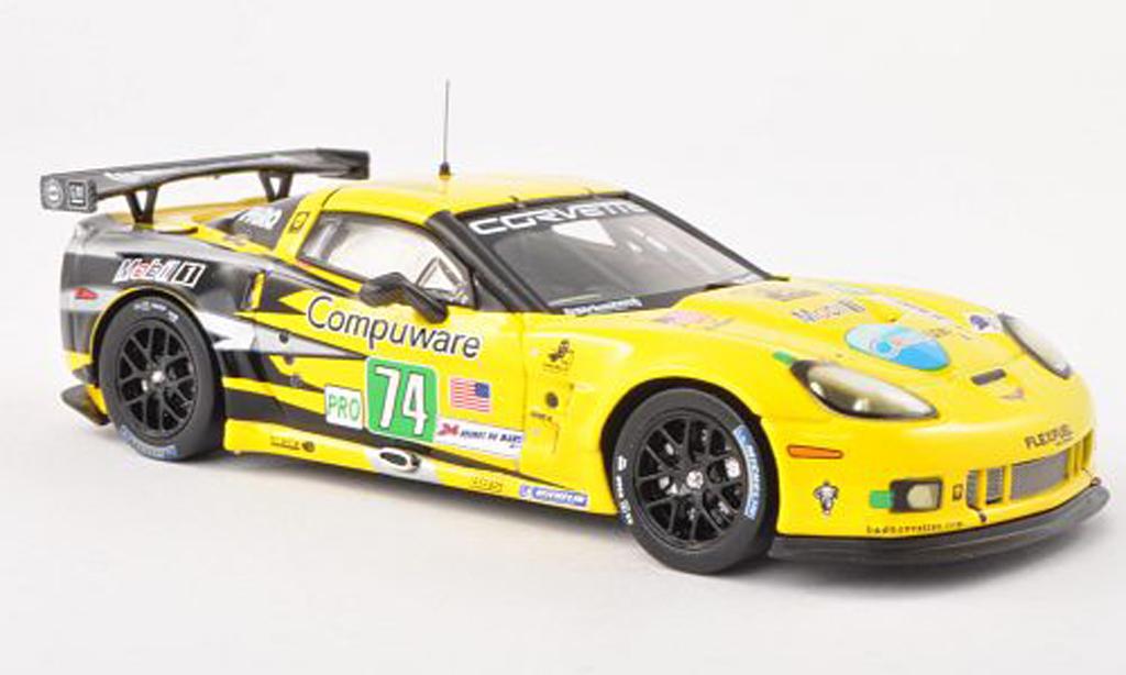 Chevrolet Corvette C6 1/43 IXO ZR1 No.74 24h Le Mans 2011 O.Garvin/J.Magnussen/R.Westbrook