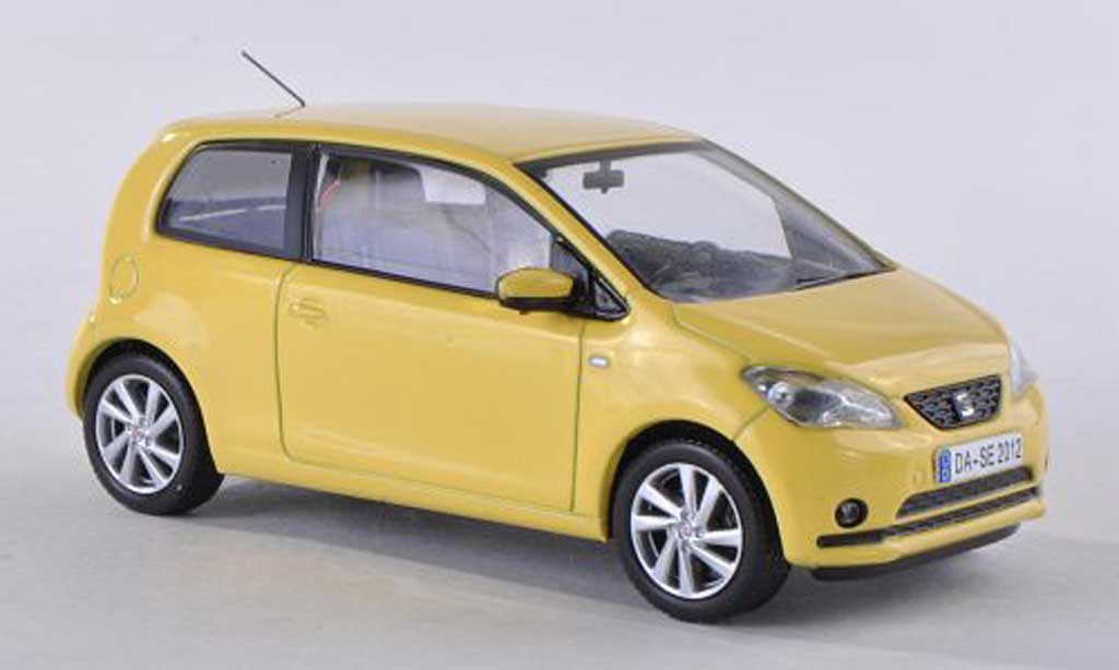 Seat Mii 1/43 Seat clair-jaune 2011 miniature