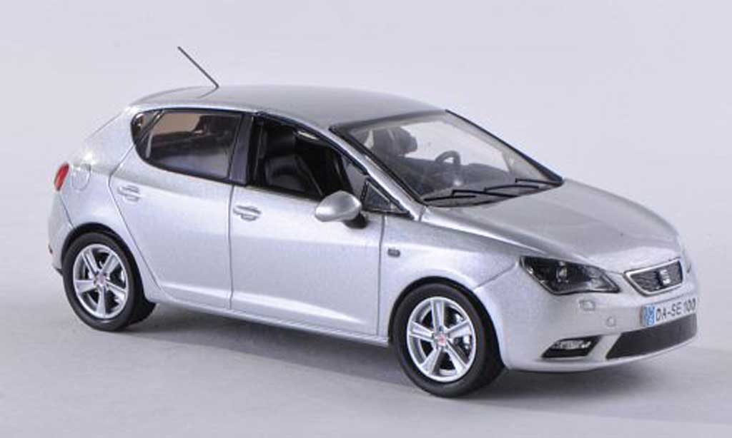 seat ibiza miniature grise 5 portes 2013 seat 1 43 voiture. Black Bedroom Furniture Sets. Home Design Ideas