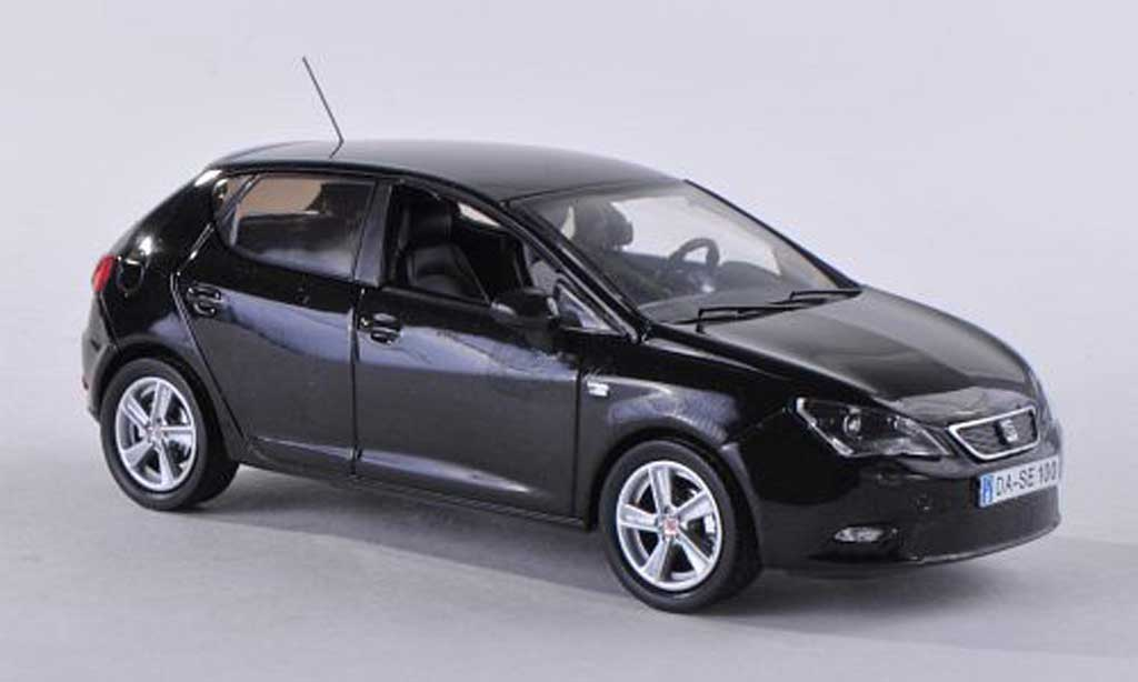 seat ibiza miniature noire 5 portes 2013 seat 1 43 voiture. Black Bedroom Furniture Sets. Home Design Ideas