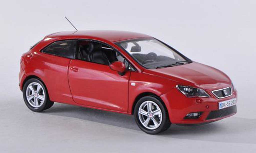 seat ibiza miniature sc rouge 2013 seat 1 43 voiture. Black Bedroom Furniture Sets. Home Design Ideas