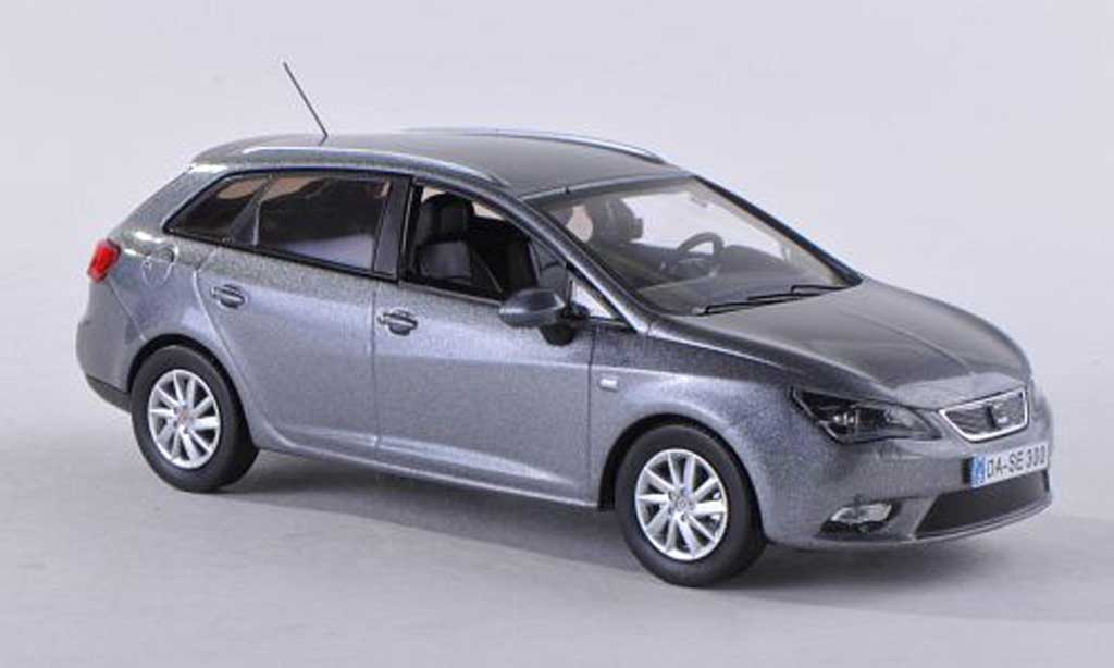 seat ibiza miniature st gris 2013 seat 1 43 voiture. Black Bedroom Furniture Sets. Home Design Ideas