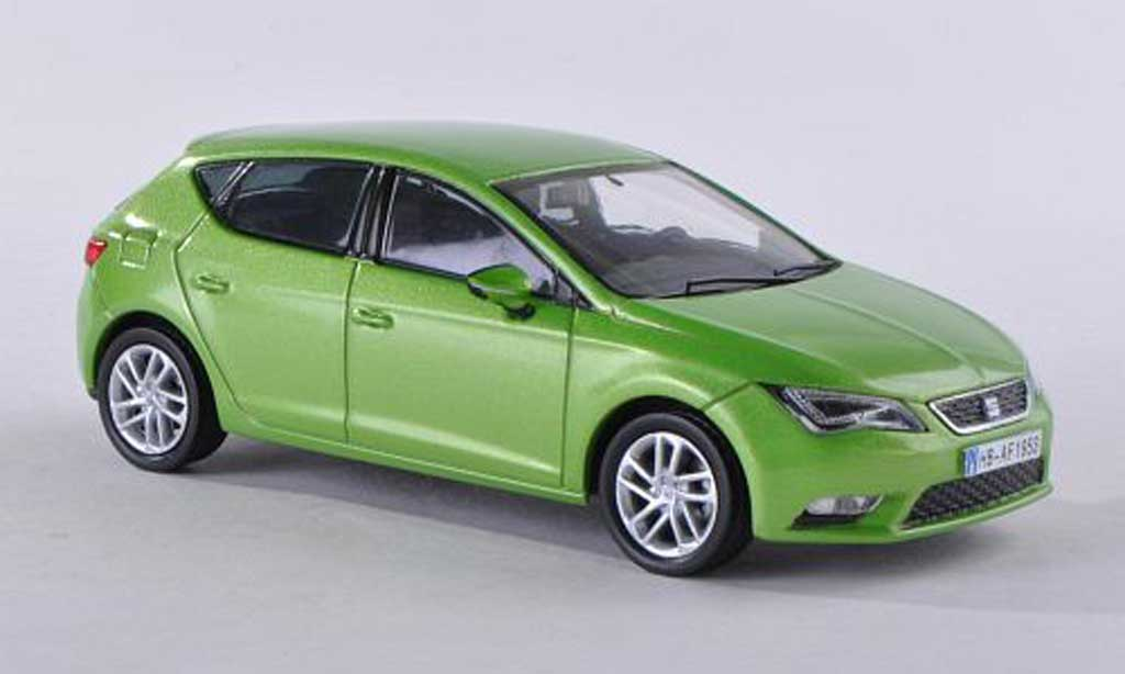 seat leon miniature clair vert 2012 seat 1 43 voiture. Black Bedroom Furniture Sets. Home Design Ideas