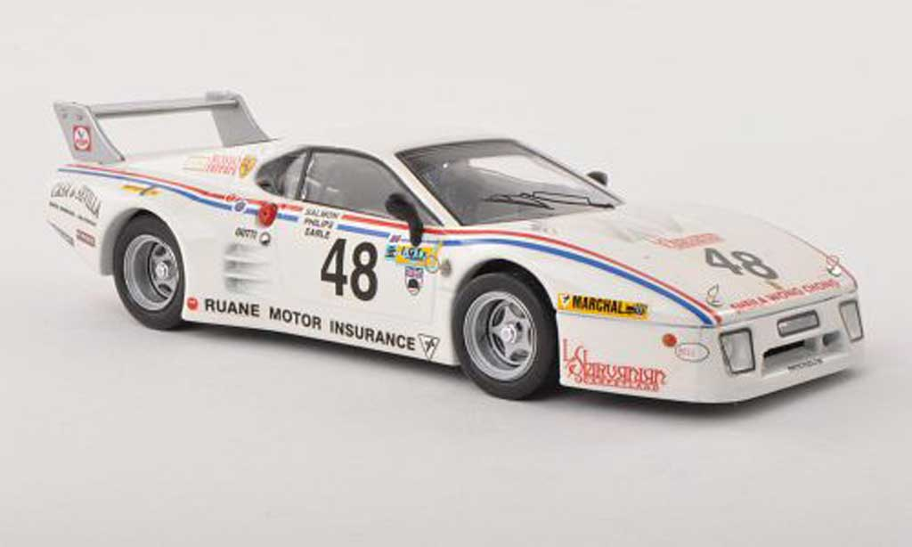 Ferrari 512 BB LM 1/43 Best No.48 24h Le Mans  1981 Salmon / Philips / Earle miniatura