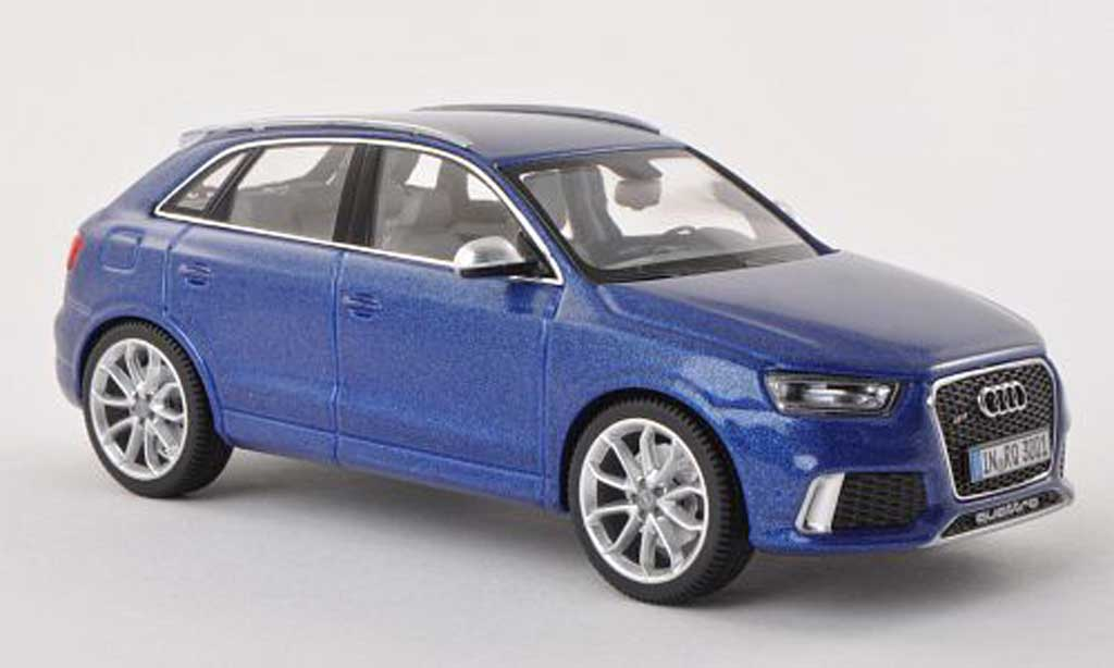 audi rs q3 blau schuco modellauto 1 43 kaufen verkauf modellauto online. Black Bedroom Furniture Sets. Home Design Ideas