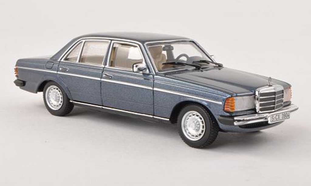 Mercedes 230 E 1/43 Minichamps (W123) bleu miniature