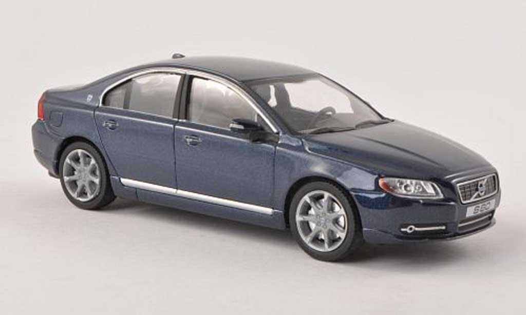 Volvo S80 1/43 MotorArt Executive bleu miniature