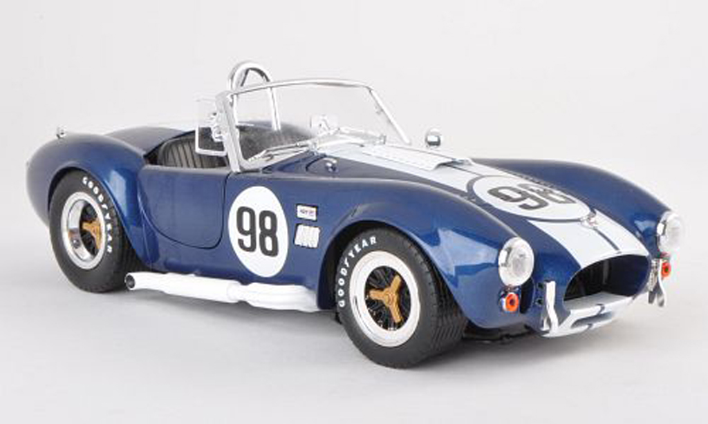 Shelby Ac Cobra 1/18 Shelby Collectibles 427 S/C No.98 miniature