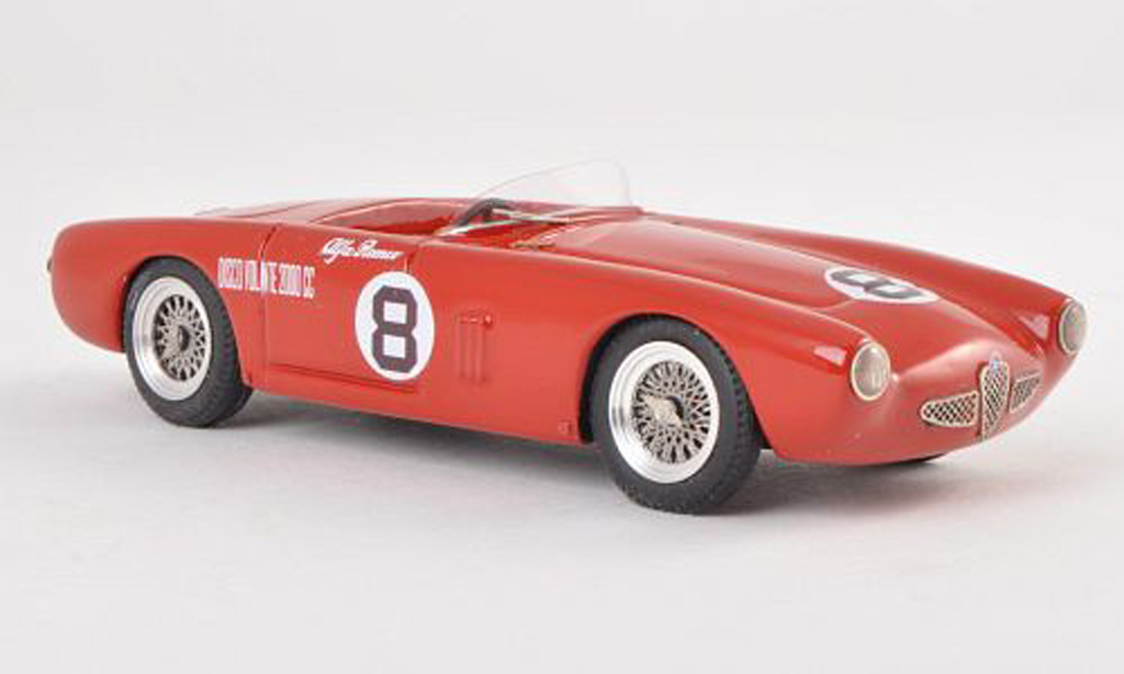 Alfa Romeo 1900 Spyder 1/43 Jolly Model Colli No.8 GP Sooma 1955 miniature