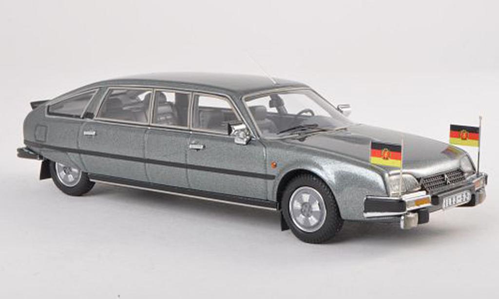 Citroen CX 1/43 Matrix Nilsson gris-vert DDR-Staatslimousine miniature