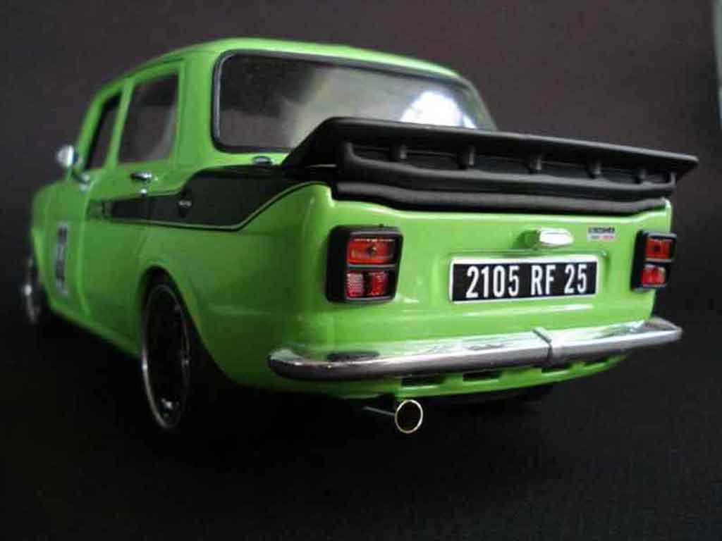Simca 1000 1/18 Norev rallye 2 grun