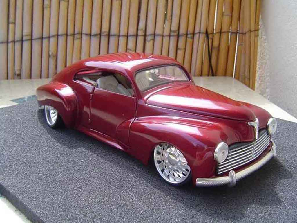 Peugeot 203 coupe 1/18 Solido hot rod