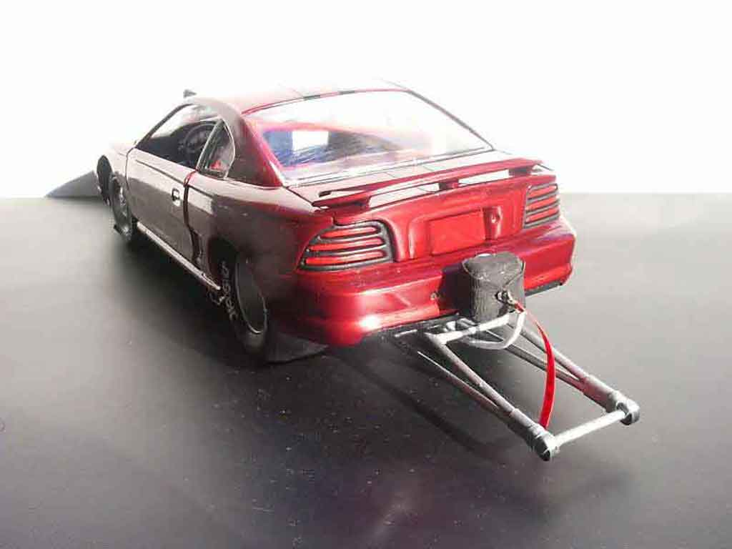 Ford Mustang 1994 1/18 Jouef svt drag the piouf delirium tuning diecast model cars