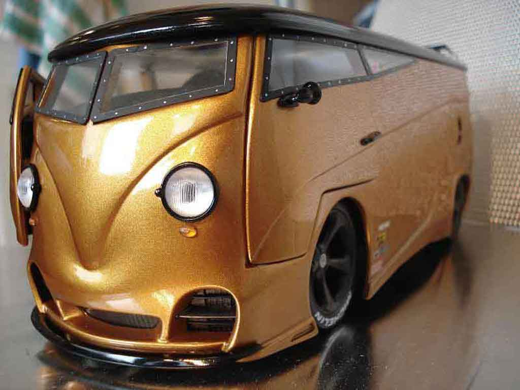 Volkswagen Combi 1/18 Solido techart rs tuning modellino in miniatura